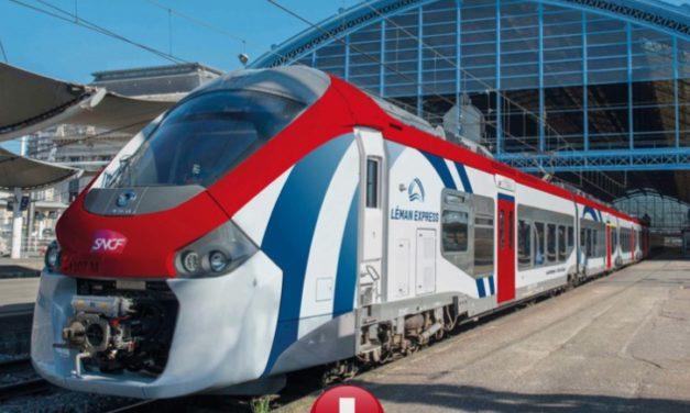 Les trains Léman Express déjà en service