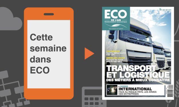 Votre magazine ECO de l'Ain du 7 juin 2018