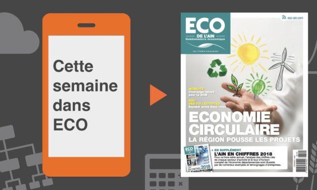 Votre magazine ECO de l'Ain du 14 juin 2018