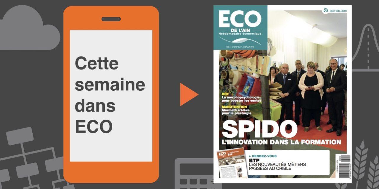 Votre magazine ECO de l'Ain du 21 juin 2018