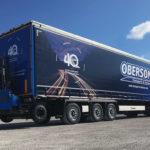 Pour leurs 40 ans, les Transports Oberson affirment leur présence dans l'Ain