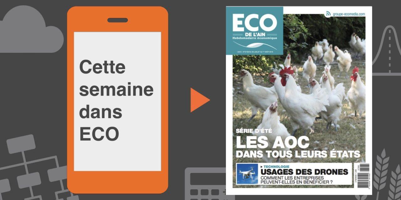 Votre magazine ECO de l'Ain du 26 juillet 2018