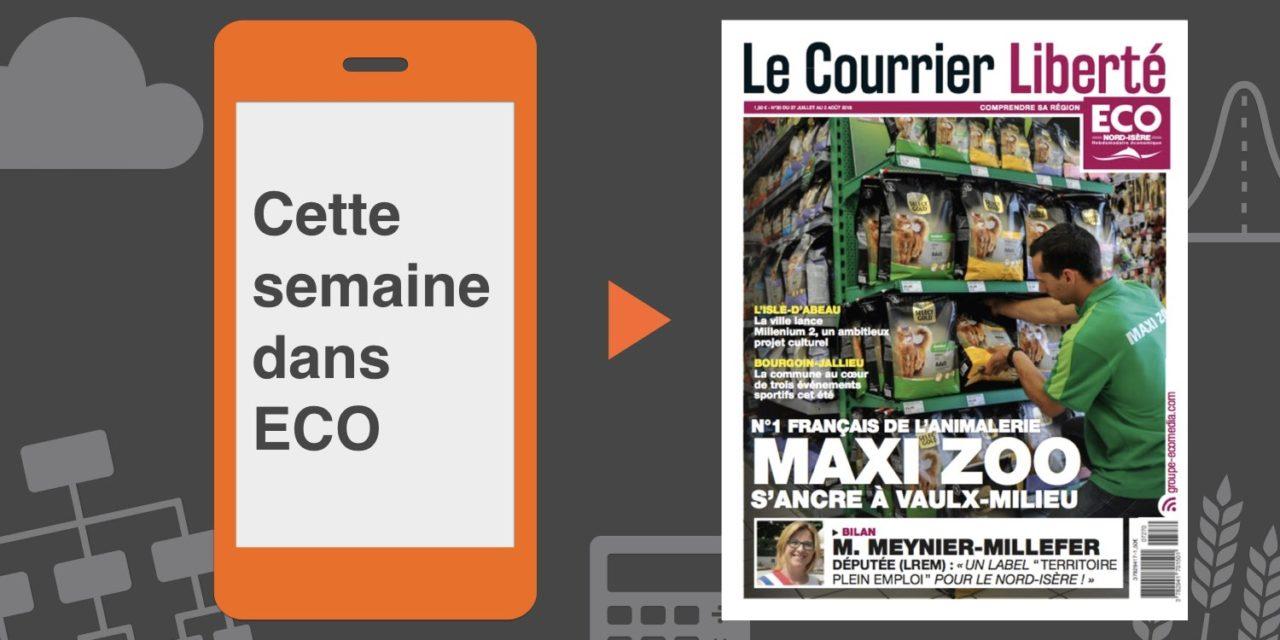 Votre magazine ECO Nord Isère du 27 juillet 2018