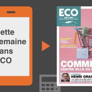 Votre magazine ECO de l'Ain du 5 juillet 2018