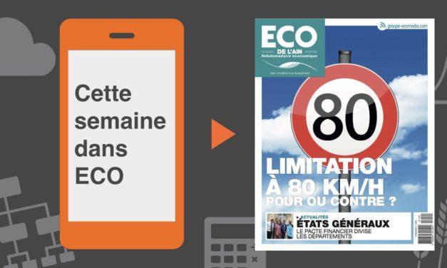 Votre magazine ECO de l'Ain du 12 juillet 2018