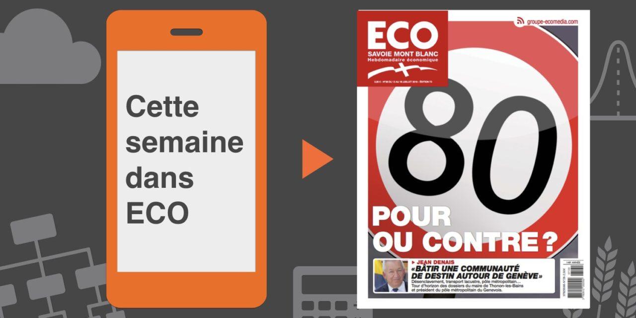 Votre magazine ECO Savoie Mont Blanc du 13 juillet 2018