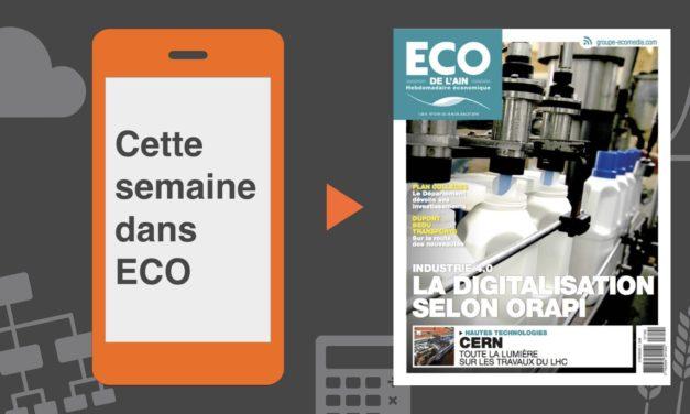 Votre magazine ECO de l'Ain du 19 juillet 2018