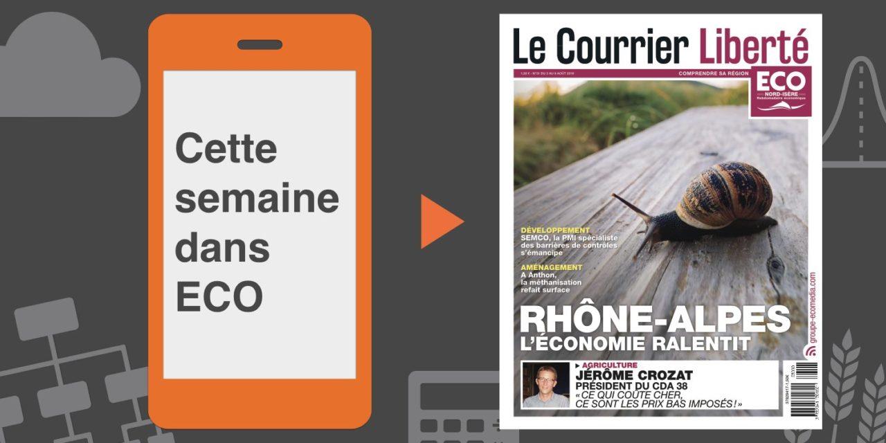 Votre magazine ECO Nord Isère du 3 août 2018