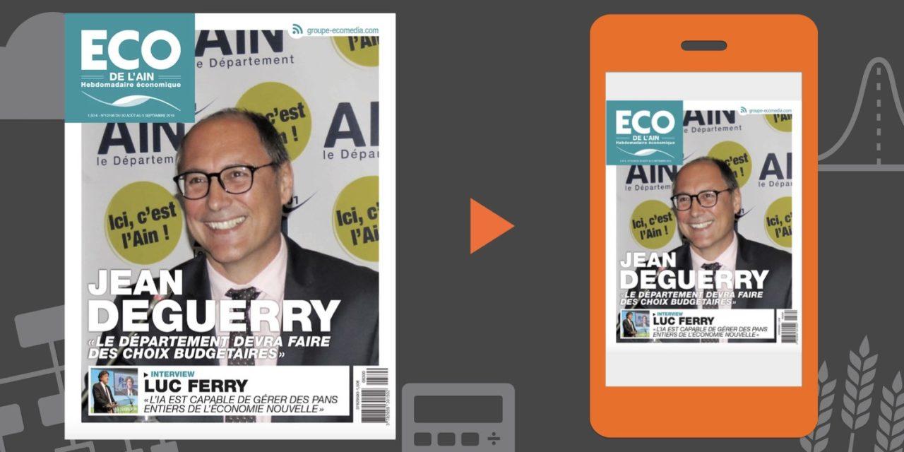 Votre magazine ECO de l'Ain du 30 août 2018