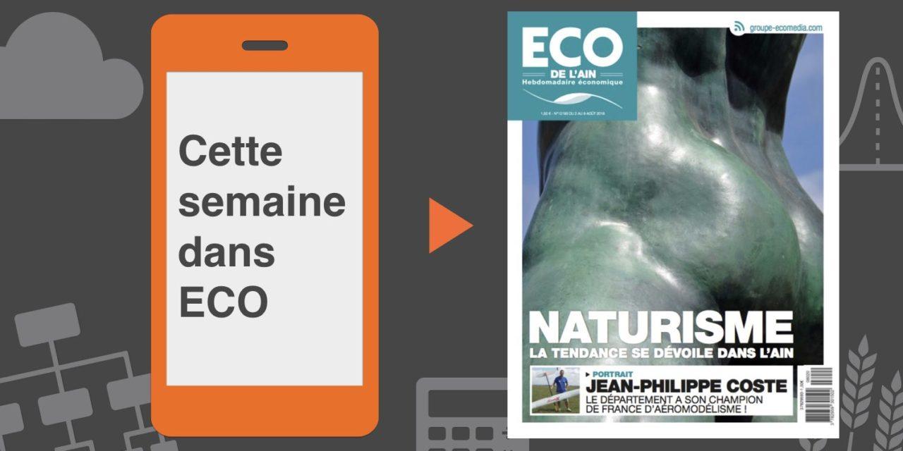 Votre magazine ECO de l'Ain du 2 août 2018