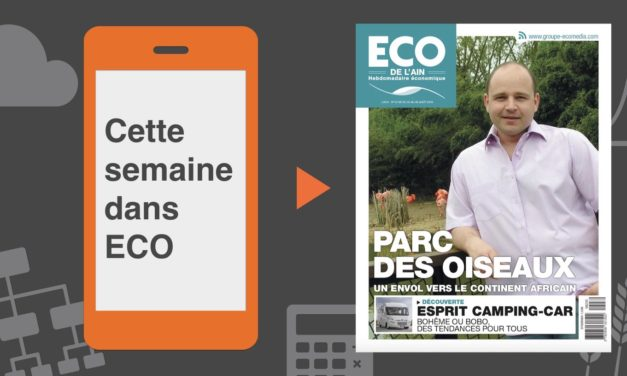 Votre magazine ECO de l'Ain du 23 août 2018