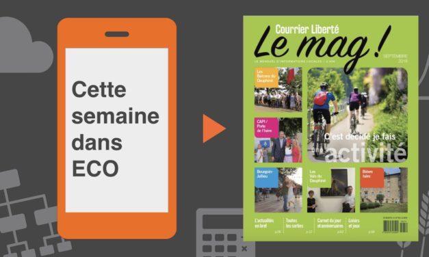 Votre magazine Courrier Liberté Mag de septembre 2018