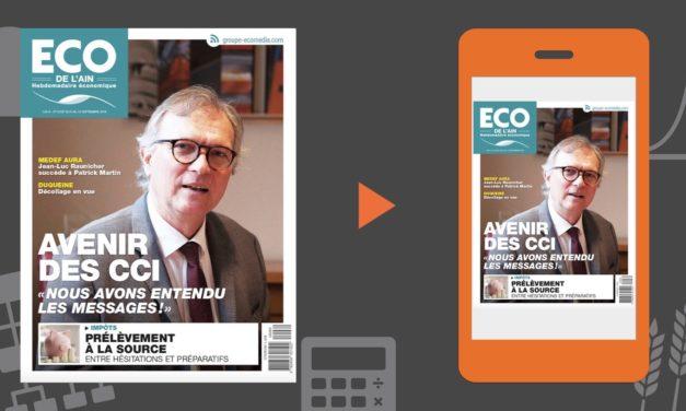 Votre magazine ECO de l'Ain du 6 septembre 2018