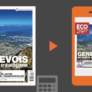 Votre magazine ECO Savoie Mont Blanc du 21 septembre 2018