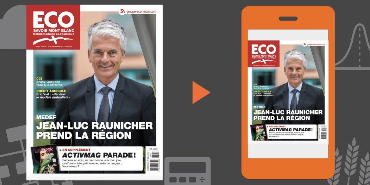 Votre magazine ECO Savoie Mont Blanc du 7 septembre 2018
