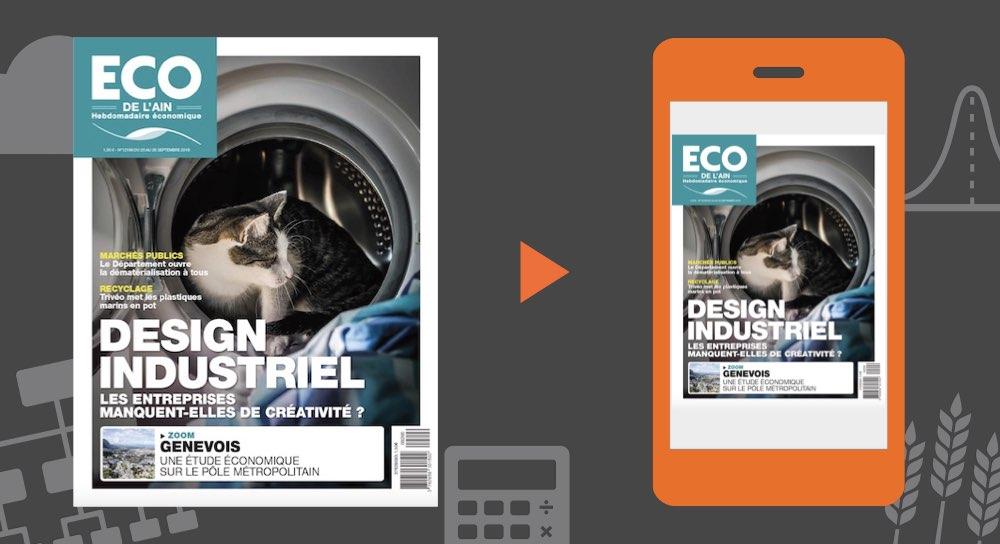 Votre magazine ECO de l'Ain du 20 septembre 2018