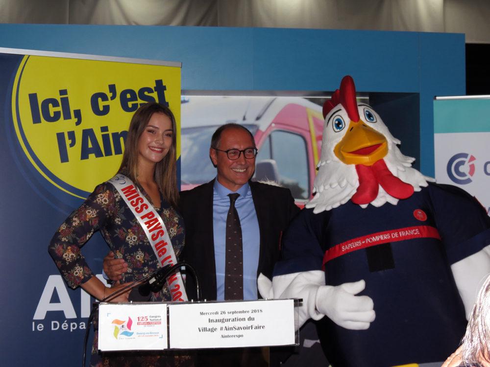 Jean Deguerry congrès sapeurs-pompiers