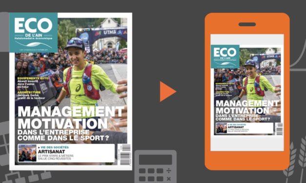 Votre magazine ECO de l'Ain du 25 octobre 2018
