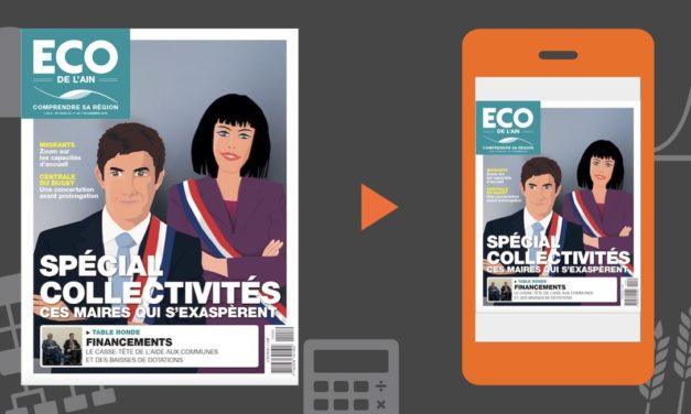 Votre magazine ECO de l'Ain du 1er novembre 2018