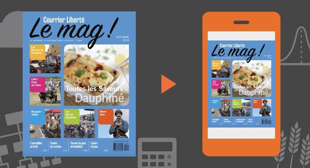 Votre magazine Courrier Liberté Mag Octobre 2018