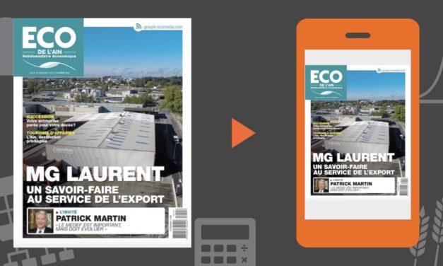 Votre magazine ECO de l'Ain du 11 octobre 2018