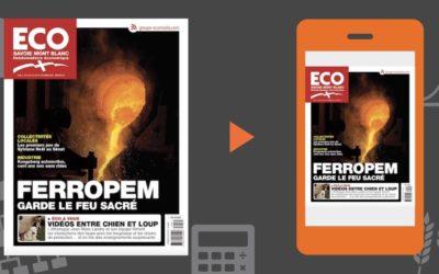Votre magazine ECO Savoie Mont Blanc du 12 octobre 2018