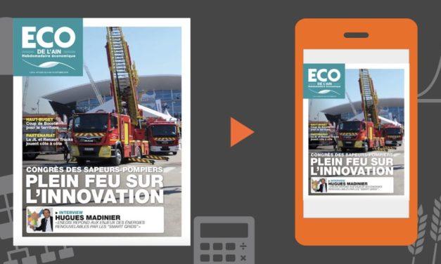 Votre magazine ECO de l'Ain du 4 octobre 2018