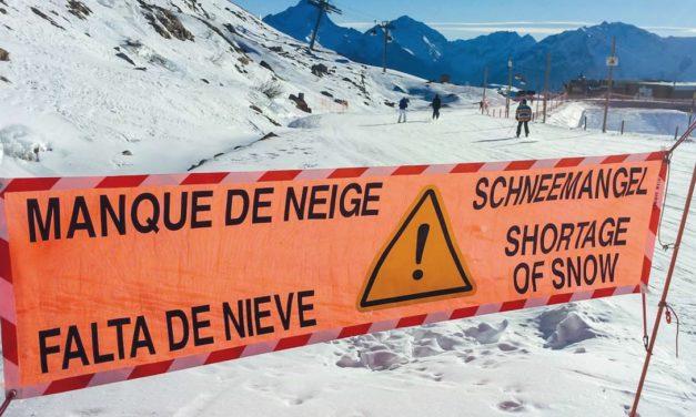 Alpes : la neige en voie de disparition ?