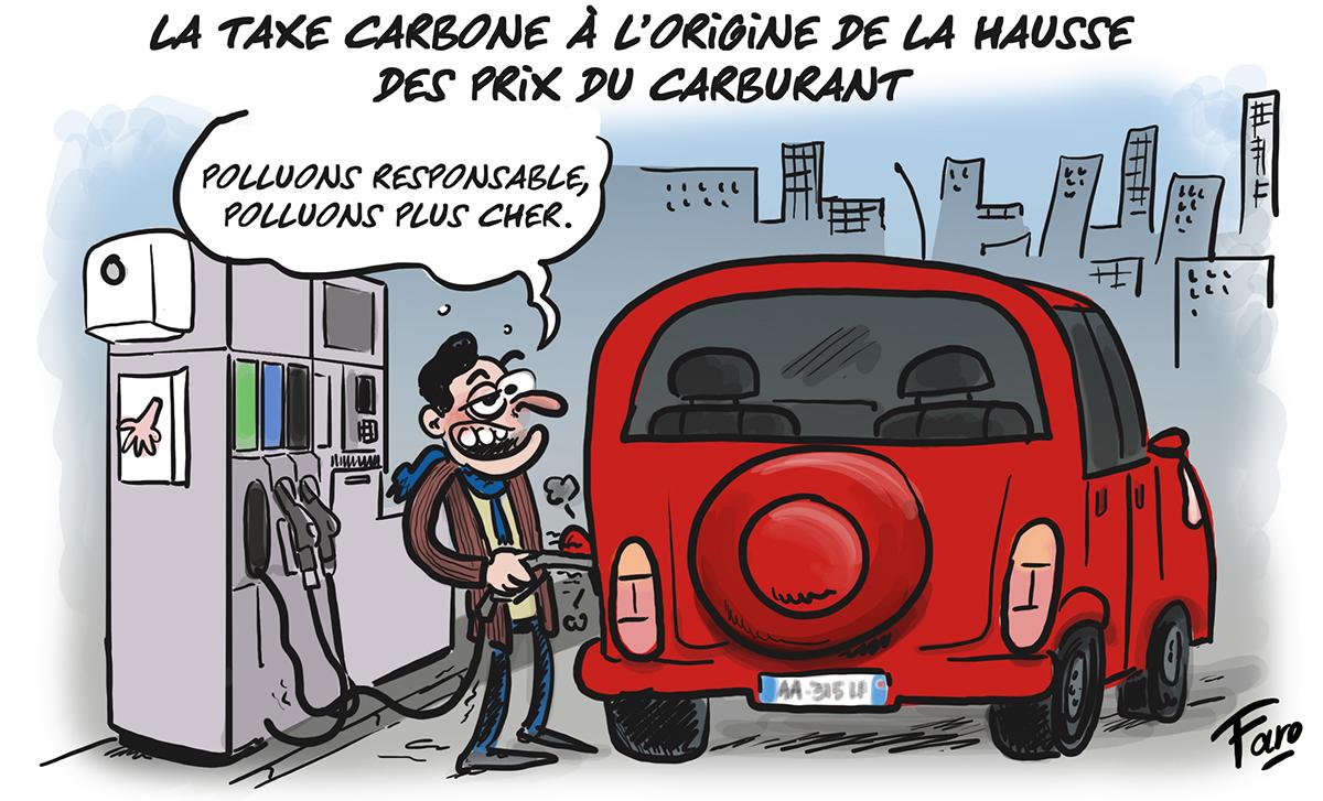 La hausse du carburant vue par Faro