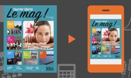 Votre magazine Courrier Liberté Mag Novembre 2018