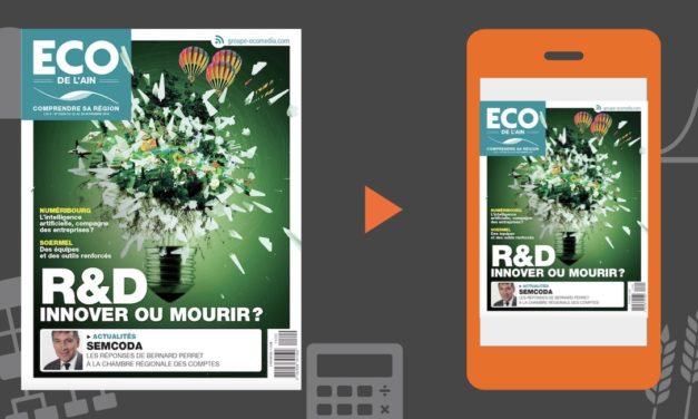 Votre magazine ECO de l'Ain du 22 novembre 2018