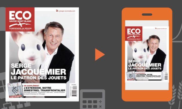 Votre magazine ECO Savoie Mont Blanc du 23 novembre 2018