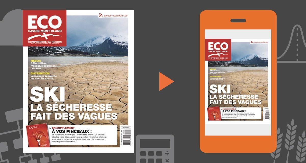 Votre magazine ECO Savoie Mont Blanc du 2 novembre 2018