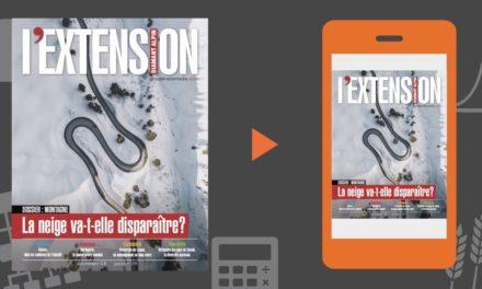 Votre magazine L'EXTENSION Hiver 2018-2019