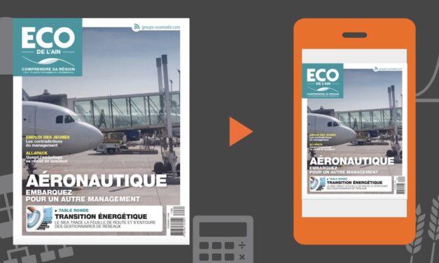 Votre magazine ECO de l'Ain du 29 novembre 2018