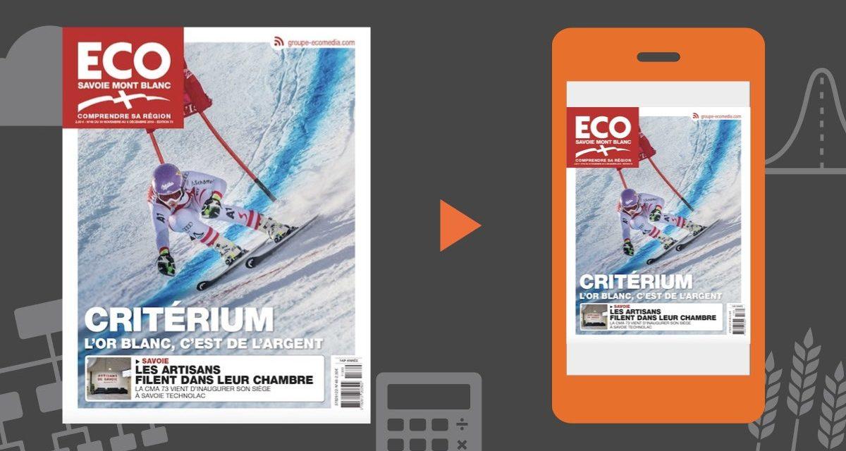 Votre magazine ECO Savoie Mont Blanc du 30 novembre 2018