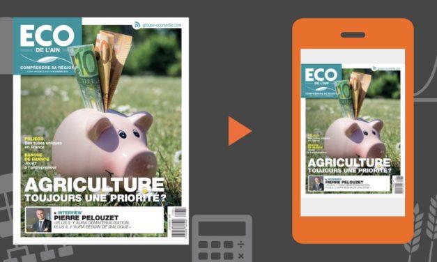 Votre magazine ECO de l'Ain du 8 novembre 2018