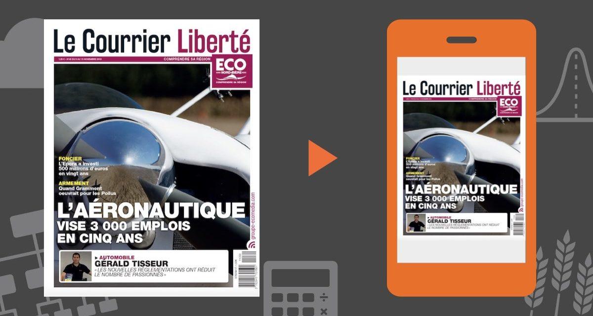 Votre magazine ECO Nord Isère du 9 novembre 2018
