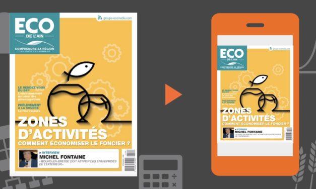 Votre magazine ECO de l'Ain du 15 novembre 2018