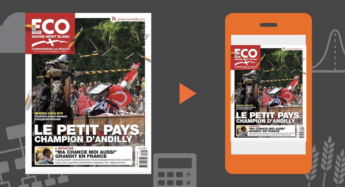 Votre magazine ECO Savoie Mont Blanc du 16 novembre 2018