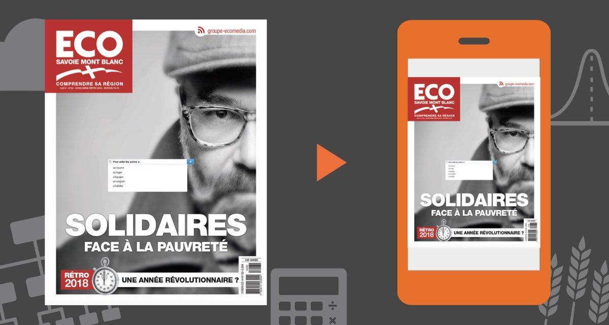 """Votre magazine ECO Savoie Mont Blanc """"la rétro"""" du 28 décembre 2018"""