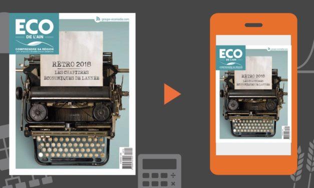 """Votre magazine ECO de l'Ain """"la rétro"""" du 27 décembre 2018"""