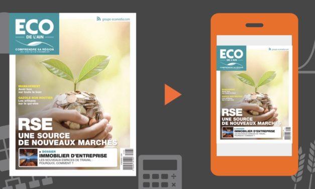 Votre magazine ECO de l'Ain du 13 décembre 2018
