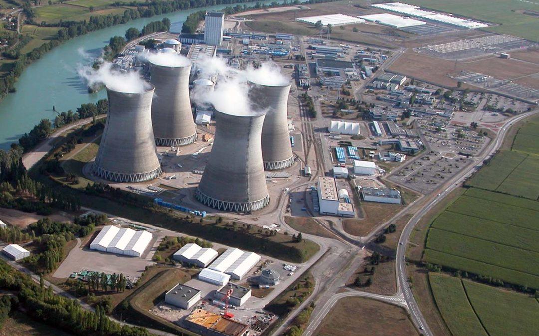 Le grand carénage de la centrale nucléaire du Bugey se poursuit