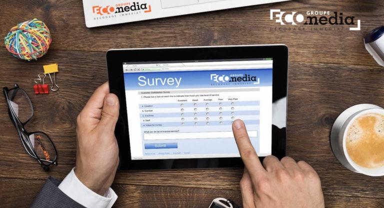 """Sondage : participez à l'enquête ECO """"Nos lecteurs et le digital !"""""""