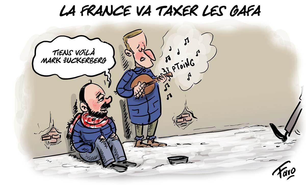 La volonté de la France de taxer les Gafa selon Faro