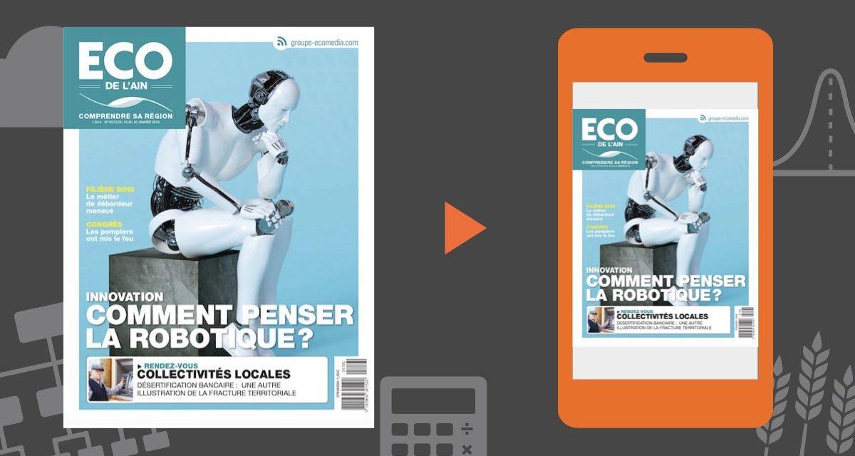 Votre magazine ECO de l'Ain du 10 janvier 2019