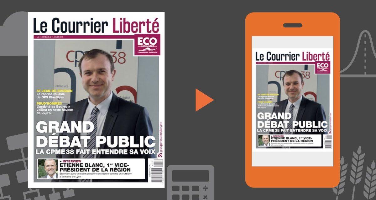 Votre magazine ECO Nord Isère du 25 janvier 2019