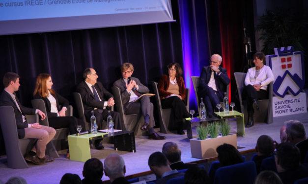 Université Savoie Mont Blanc : un ministre pour les vœux