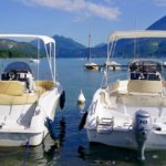 Lac d'annecy / fréquentation :  le Sila se jette à l'eau